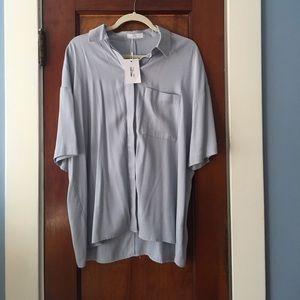 OAK + FORT Tops - Oak + Fort NEW short sleeve blouse